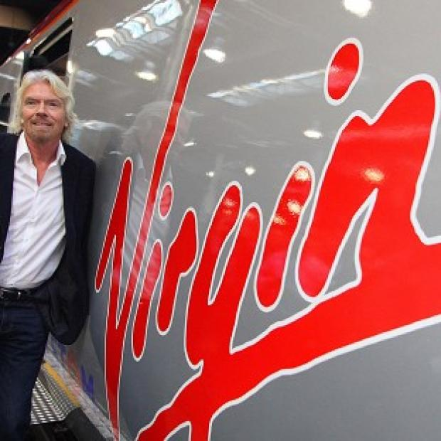 Herald Series: Virgin boss Sir Richard Branson said he has been in contact with the Department for Transport for 'more than two years'