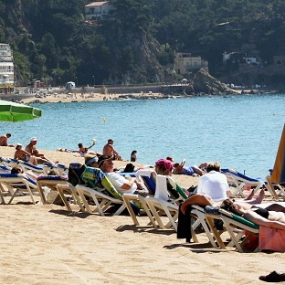 A man and a boy drowned off the coast of Majorca, the Foreign Office says