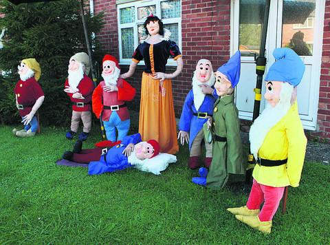 Herald Series: Snow White and the Seven Dwarves on display in East Hendred