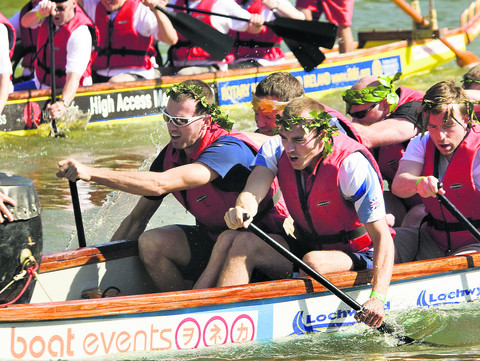 Olympic star power at dragon boat race