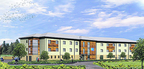 The planned care apartments in Carterton
