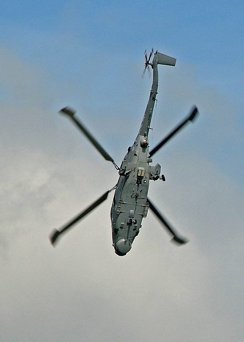 Lynx helicopter came down in Kandahar