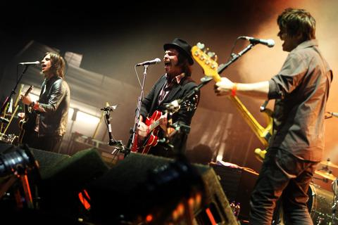 Herald Series: Supergrass at the Cropredy Festival in 2008