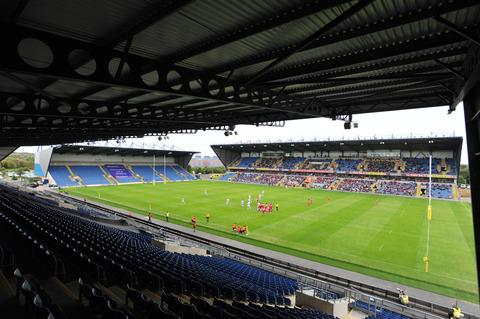 Empty seats at the Exiles last home game against Exeter at the Kassam