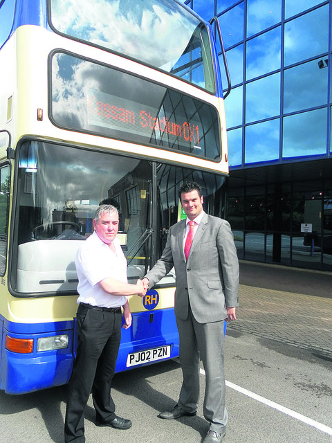 Bus firm goes bust
