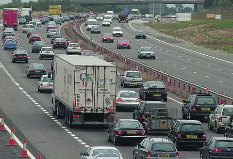 Herald Series: Queues on the southbound M40