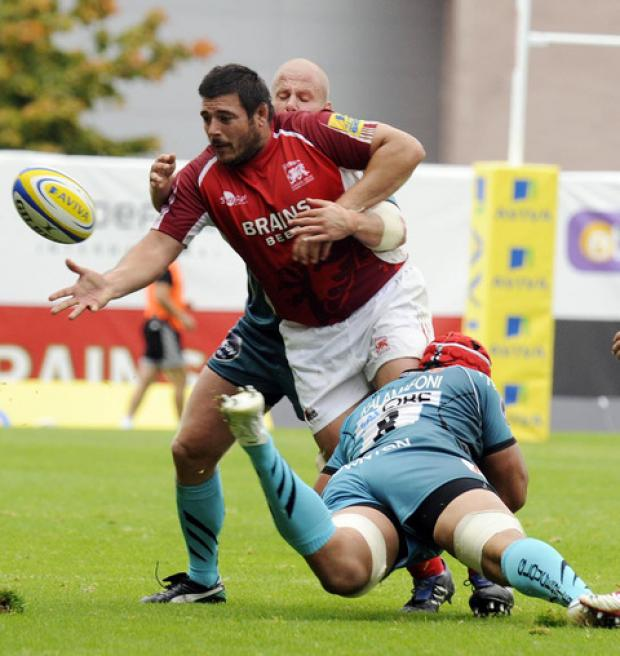 London Welsh prop Frank Montanella will be facing former club today