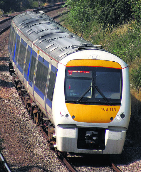 A Chiltern Railways Clubman train