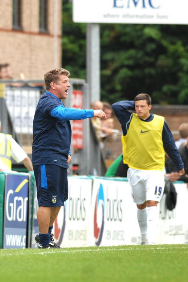 Assistant manager Mickey Lewis is looking for Oxford United to take advantage of two home games