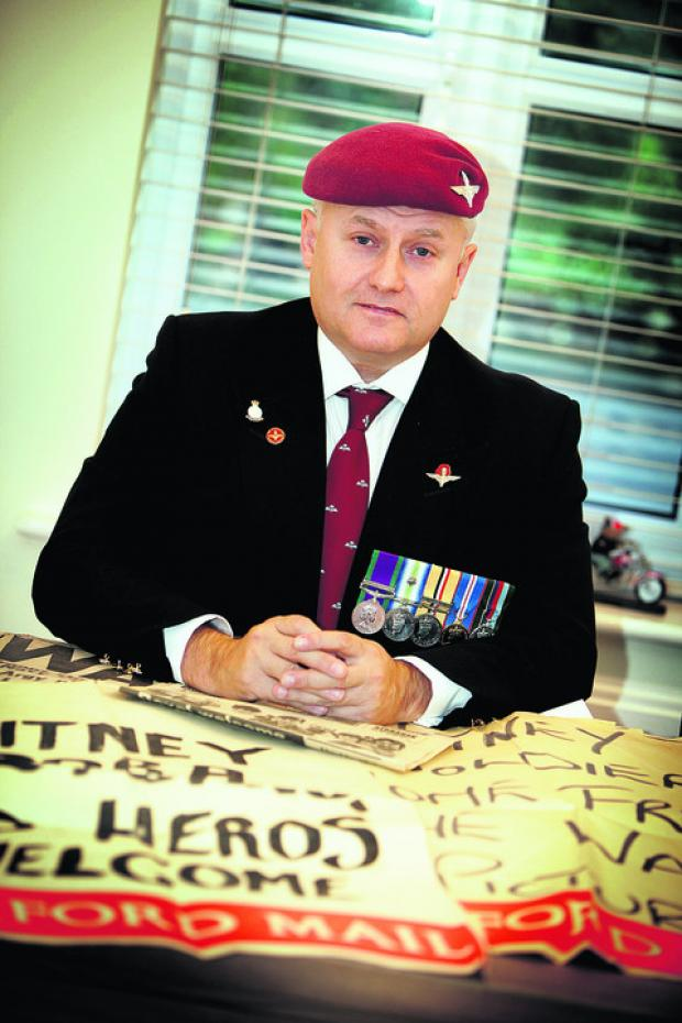 Falklands veteran