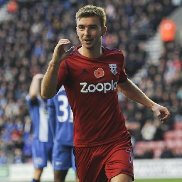 Herald Series: James Morrison scored the opening goal of the game for West Brom