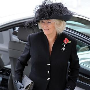 Camilla, Duchess of Cornwall arrives for a Maori welcome at the Auckland War Memorial Museum(AP pic)