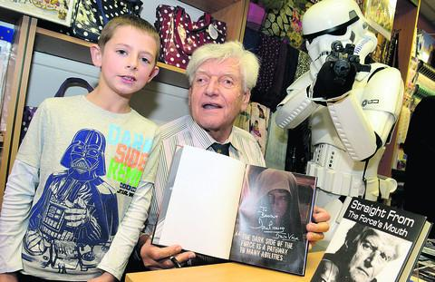 Visit from Darth Vader goes down a storm