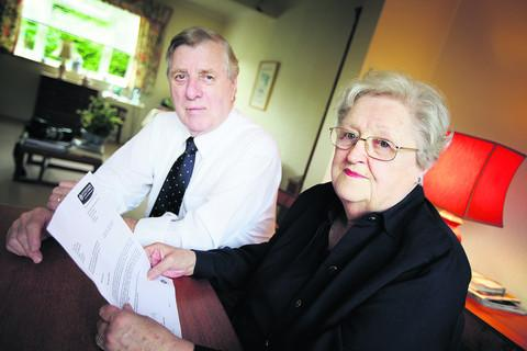 Ken and Jenny Bull, who are struggling to pay their bills
