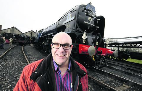 Mark Allatt, the chairman of the A1 Steam Locomotive Trust which owns the Tornado