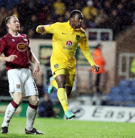 Jon-Paul Pittman is set for a starting role for Oxford United at Accrington Stanley today