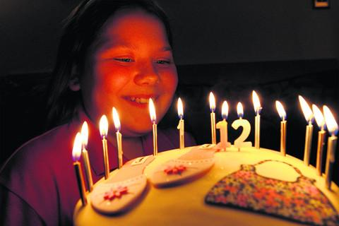 Millie Preece from Grove turns 12 today  Picture: OX55382 Ric Mellis