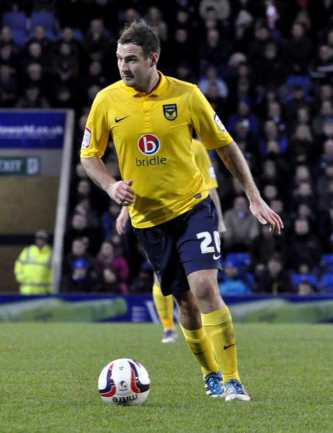 Peter Leven during his time at Oxford United