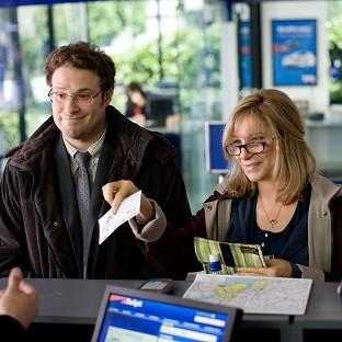 Seth Rogen and Barbra Streisand star in The Guilt Trip