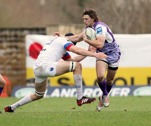 Tom Arscott one of only two players to keep their place in the London Welsh line-up