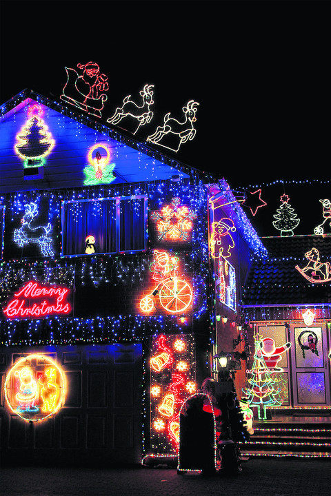 Residents bring festive colour to their neighbourhoods