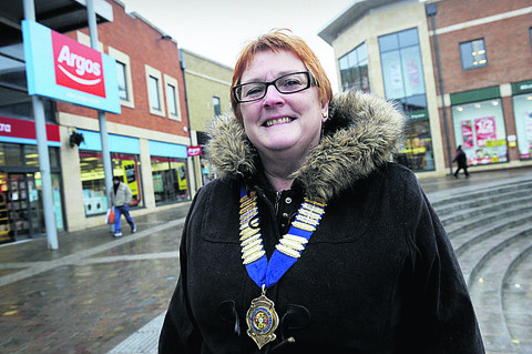New Didcot Chamber of Commerce president Jayne Reddyhoff