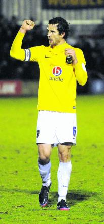 Jake Wright has helped Oxford United to four straight league wins