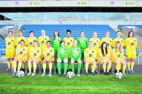 Oxford United's ladies