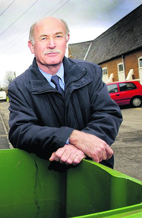 Retirement will allow town clerk Andrew Rogers to spend more time behind the wheel of his sports car