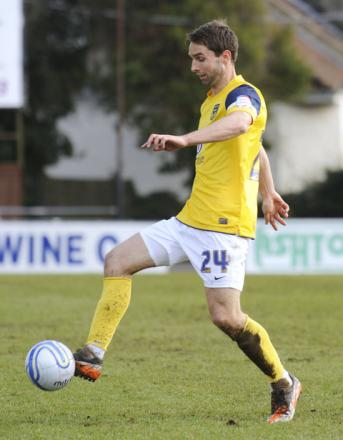Mark Wilson, pictured playing for Oxford United, was found guilty of being involved in betting corruption