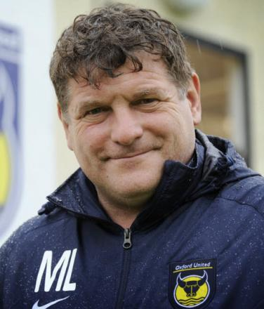 Oxford United's assistant manager Mickey Lewis