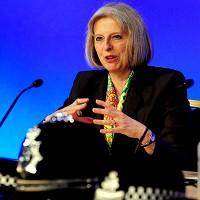 Home Secretary Theresa May announced plans for police chiefs to disclose their pay packages