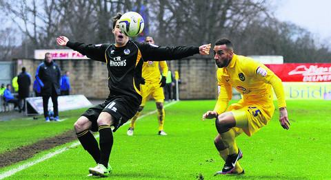 Josh Parker (right) is keen to play a role in Oxford United's run-in, whether as a starter or by coming off the bench