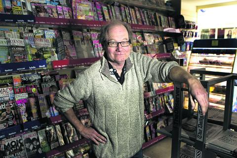 Peter Wiblin says he is being forced to shut Abingdon News Plus in Bury Street