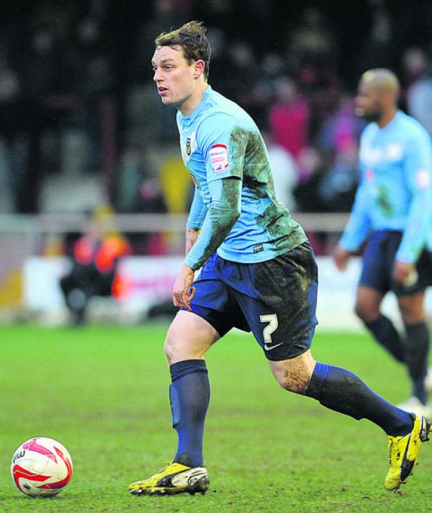 Adam Chapman made 34 appearances for Oxford United this season  Picture: Mark Wilson