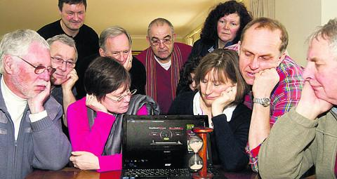 Villagers hoping to get faster broadband. Picture: OX57706 George Reszeter