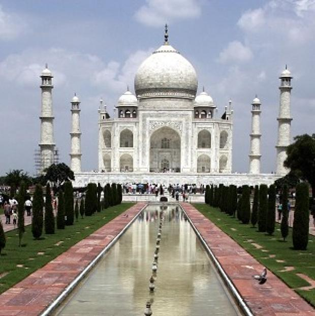 A British woman is recovering after reportedly jumping from a hotel window in Agra, close to the Taj Mahal