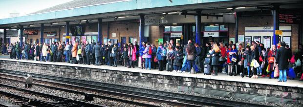 Trains hit by delays