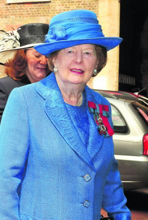 Controversy over the Iron Lady will not rest in peace