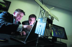 Two major centres which will boost space research have been launched at Harwell