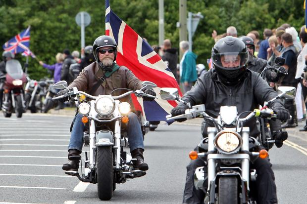Herald Series: RBL Ride Of Respect on sunday Morning