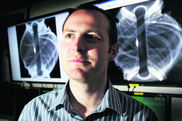 Herald Series: Dr Ian Chapman has been named among the UK's top young physicists