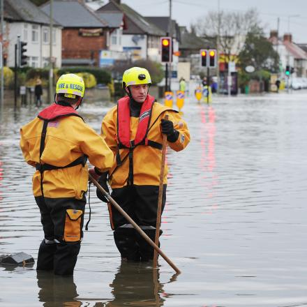 Thousands of sandbags handed out by councils