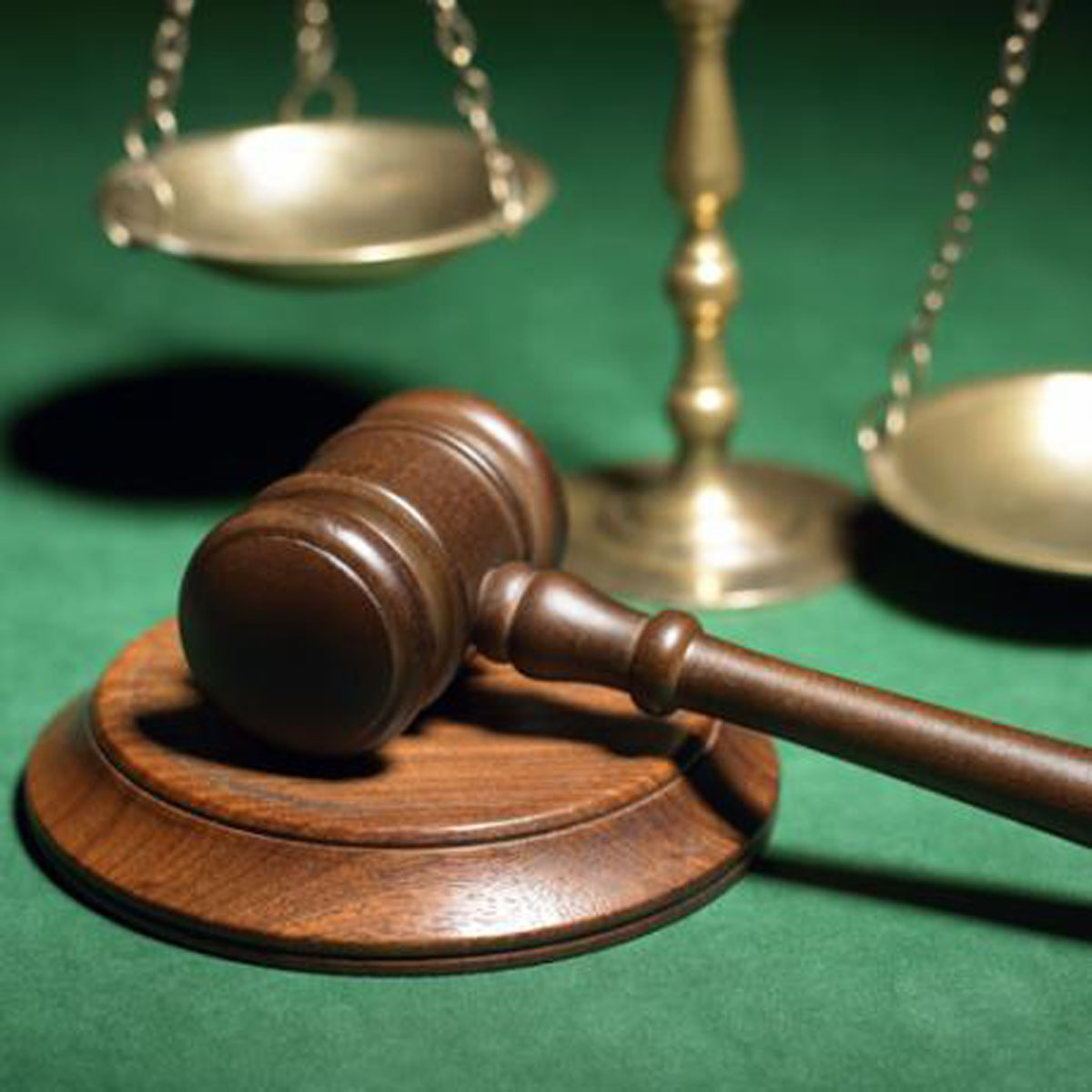The Scales of Justice – 22 people up in court