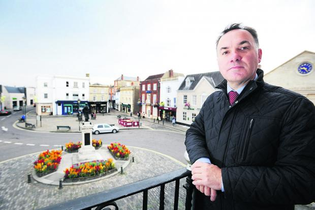 Wallingford  town clerk Jamie Baskeyfield