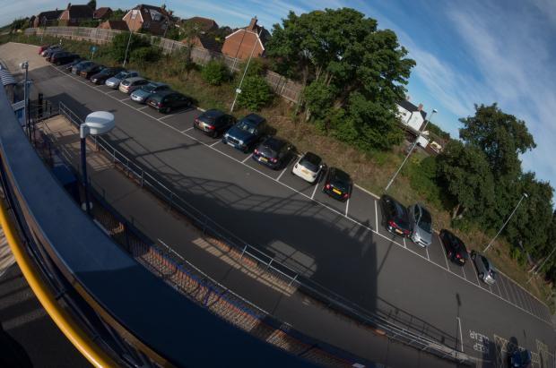Herald Series: The Radley Station car park
