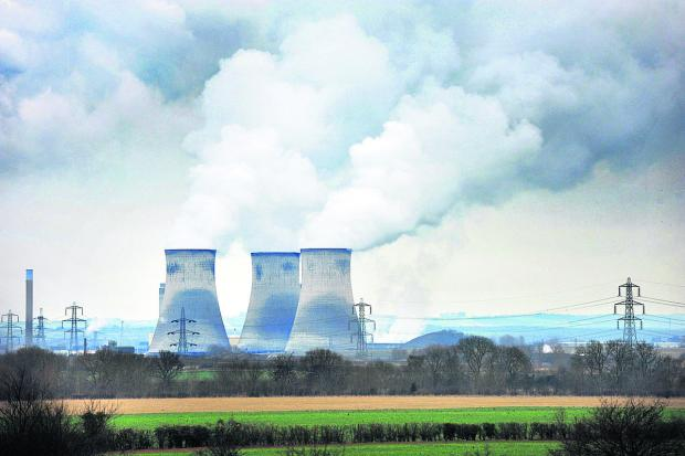 Didcot Power Station's famous towers