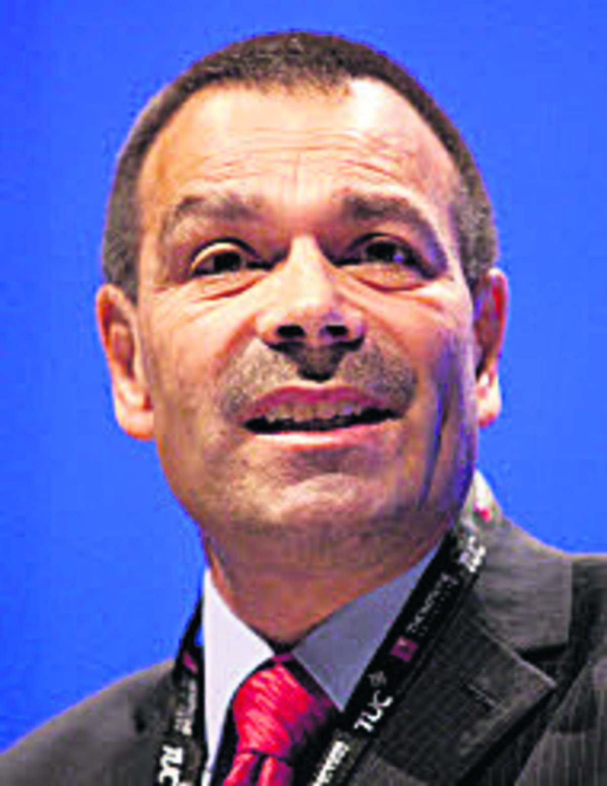 Ian Lawrence, general secretary of Napo, the trade union for Probation and Family Court staff