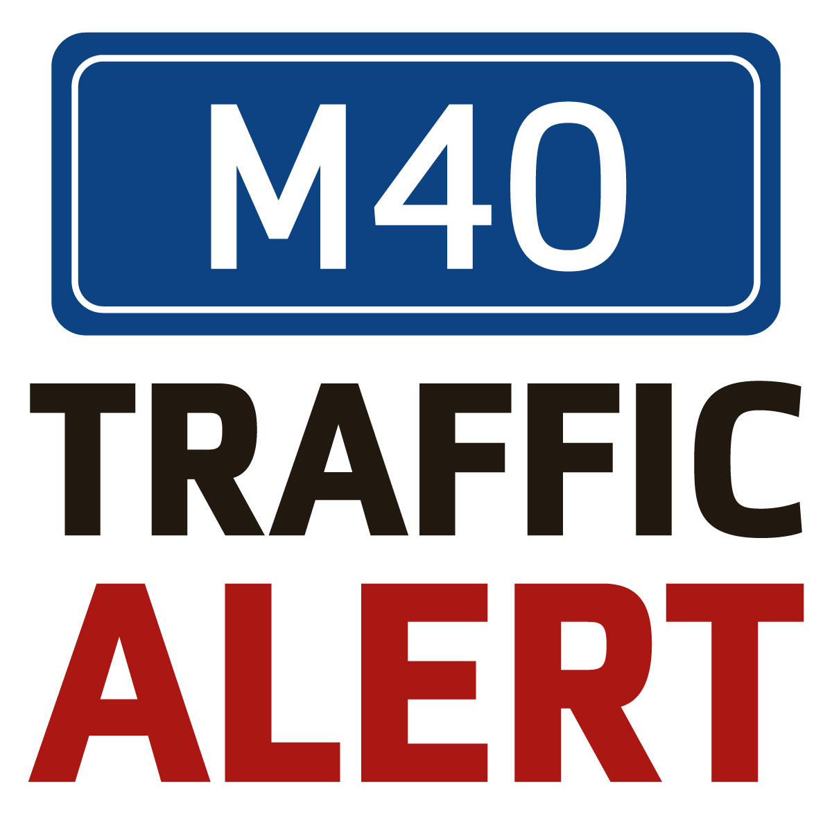Major delays on the M40 near Thame due to car fire