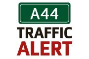 Serious multi-vehicle crash blocks one lane of the A44 at Woodstock